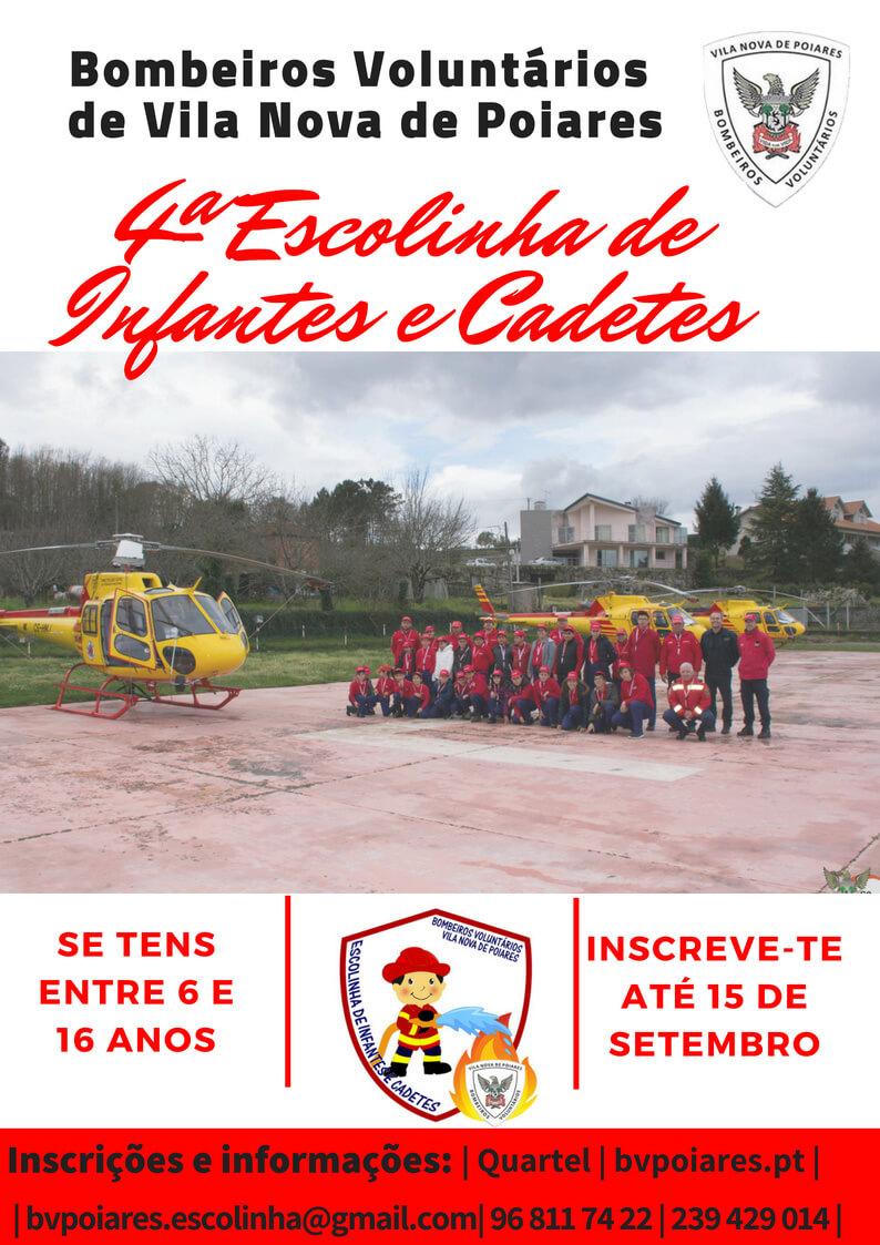 4ª Escolinha de Infantes e Cadetes - Bombeiros Voluntários de Vila Nova de Poiares