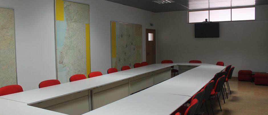 Edificio 1 - Sala operacional