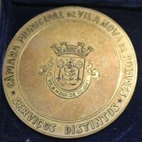 Serviços Distintos – Medalha de Ouro da Câmara Municipal de V.N. Poiares